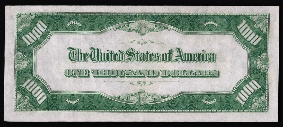 1928 $1,000 Federal Reserve Note Philadelphia - 2