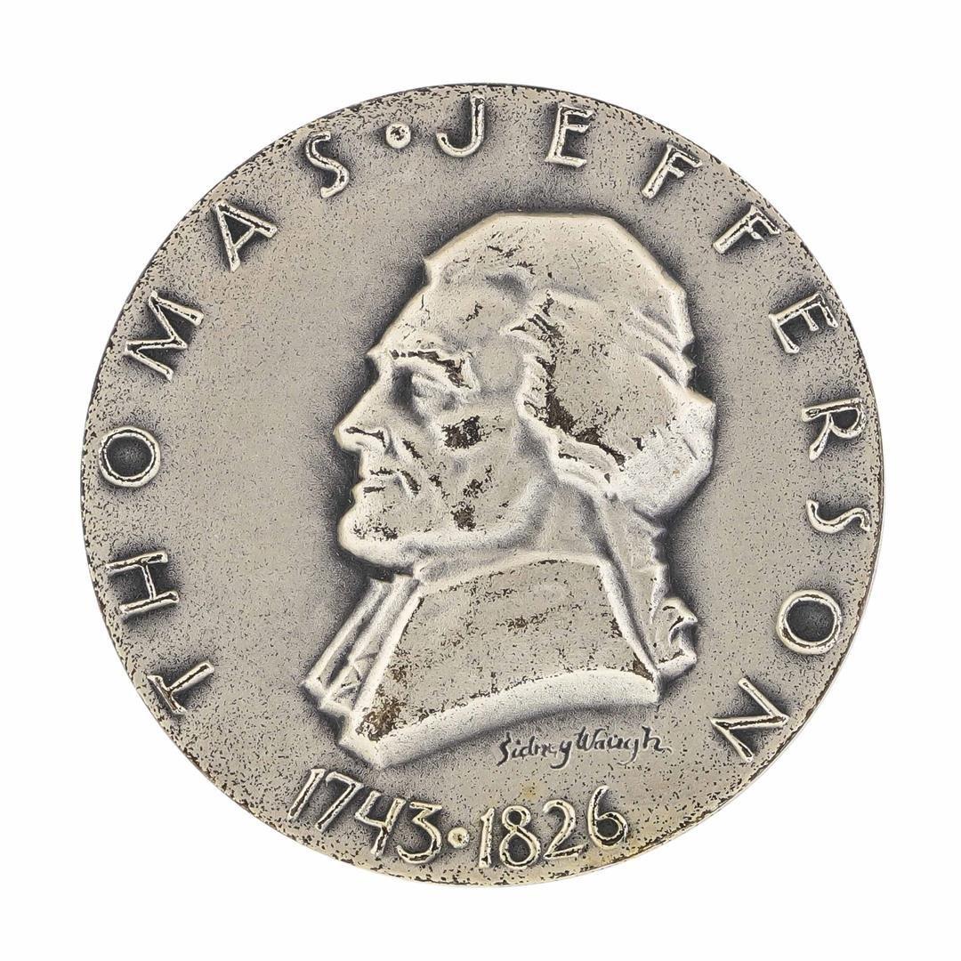 1962 Thomas Jefferson Medallic Art Co N.Y. 1.56 oz .999
