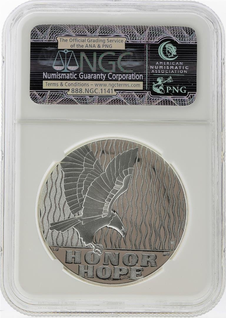 2011-W 9/11 10th Anniversary Silver Medal NGC PF70 - 2