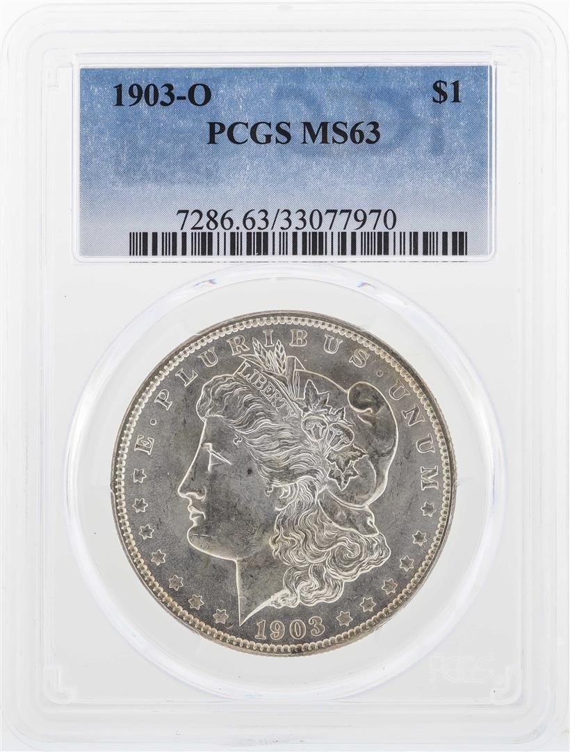 1903-O $1 Morgan Silver Dollar Coin PCGS MS63