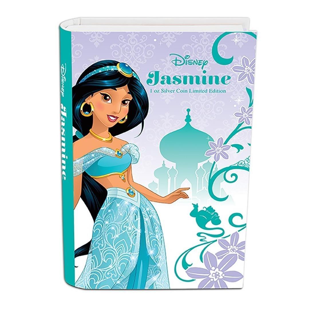 2015 $2 Disney Princess Jasmine .999 Fine Silver Proof - 4