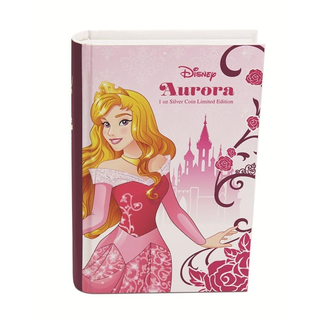 2015 $2 Disney Princess Aurora .999 Fine Silver Proof - 3