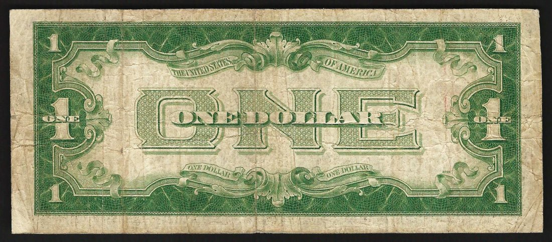 1928A $1 Silver Certificate Funny Back Note - 2