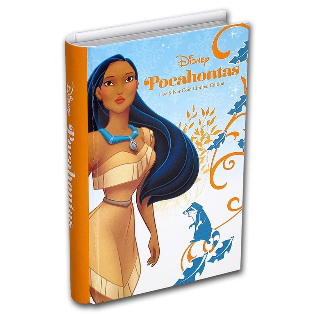2016 $2 Disney Princess Pocahontas .999 Fine Silver - 4
