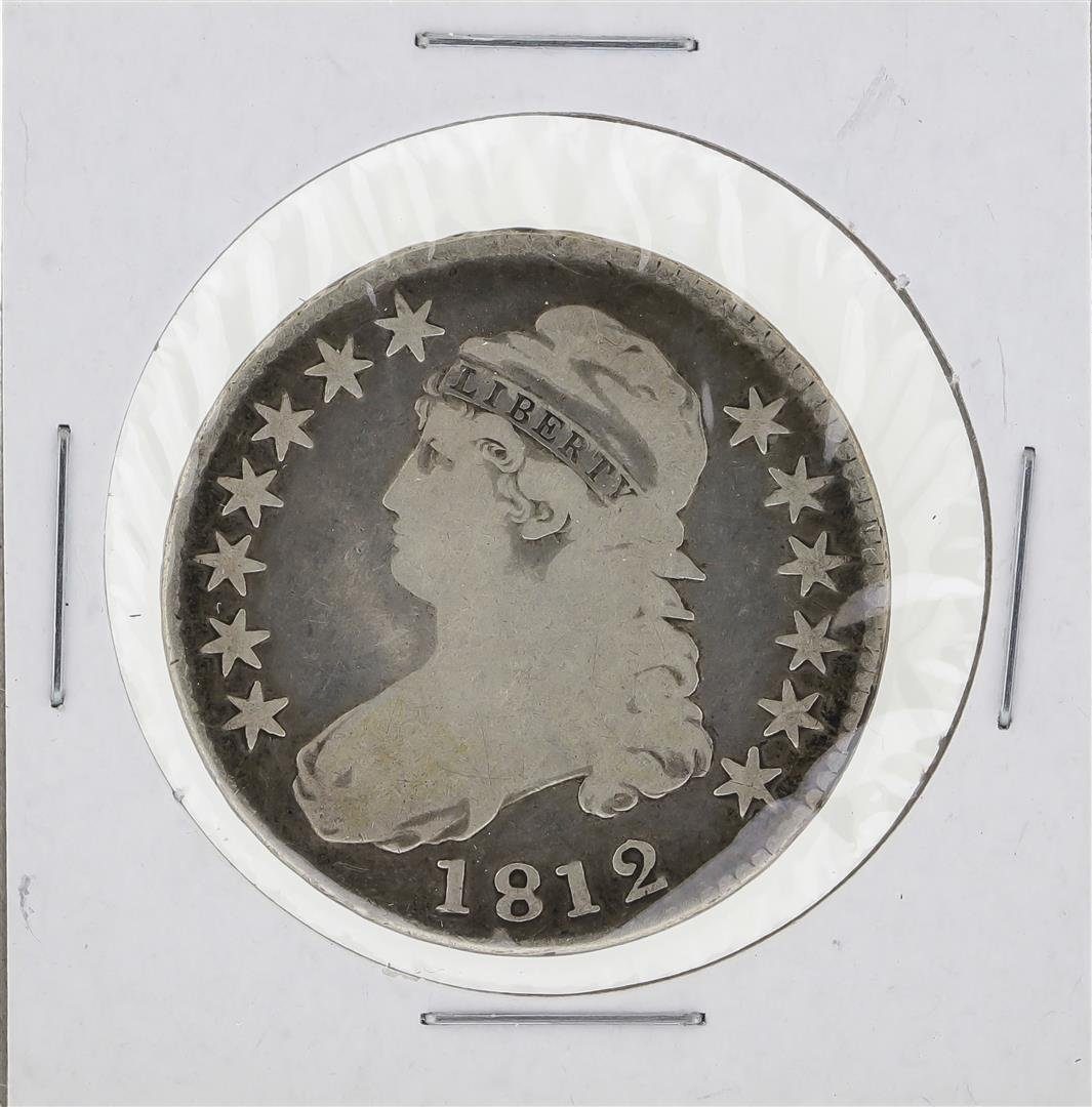 1812 Capped Bust Half Dollar Coin