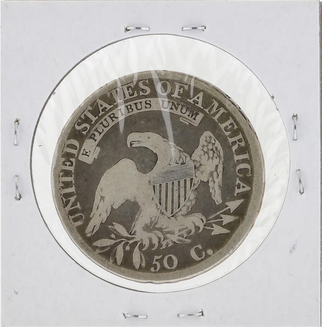 1812 Capped Bust Half Dollar Coin - 2