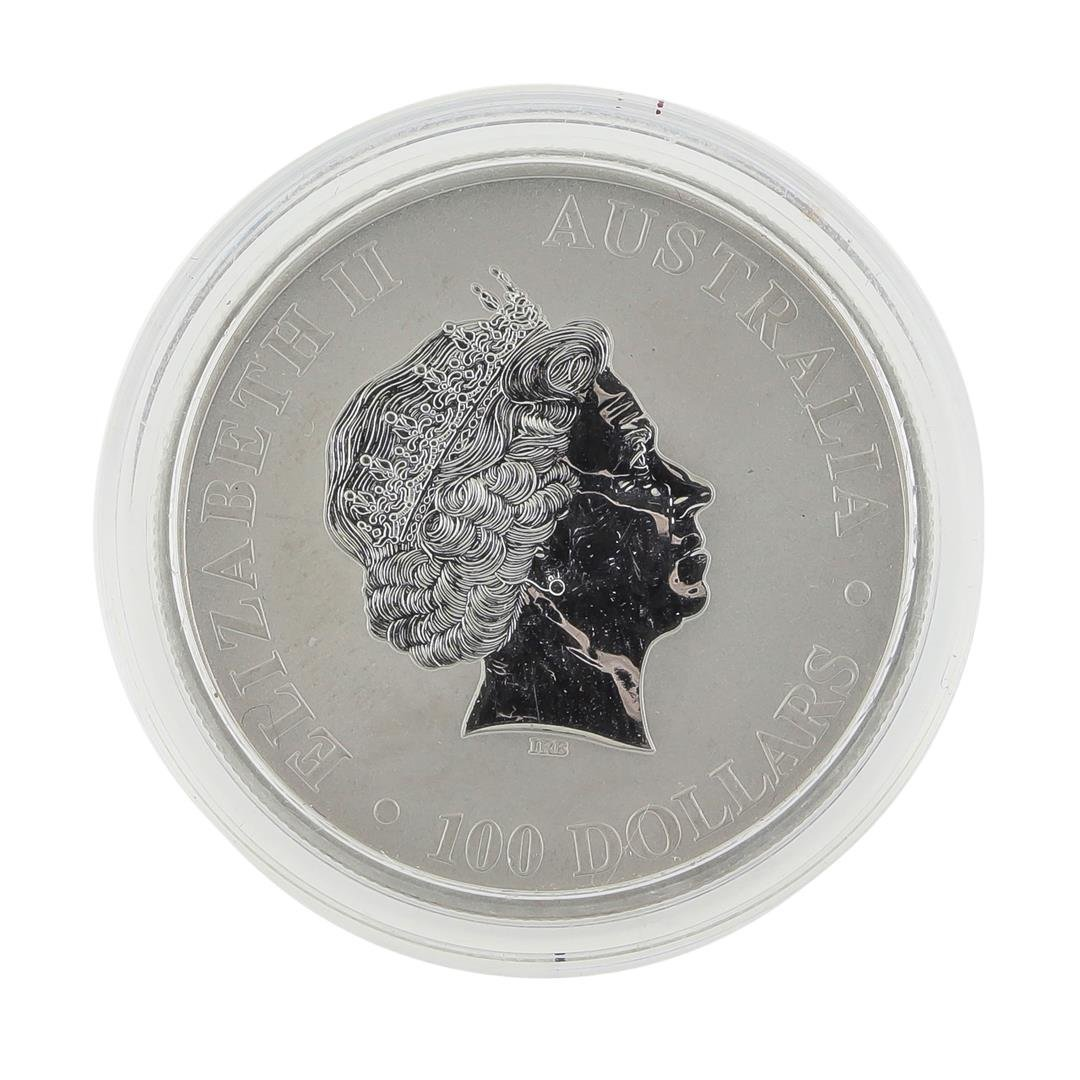2011 $100 Platinum 1 oz Platypus Coin