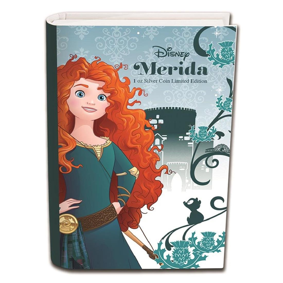2016 $2 Disney Princess Merida .999 Fine Silver Proof - 4