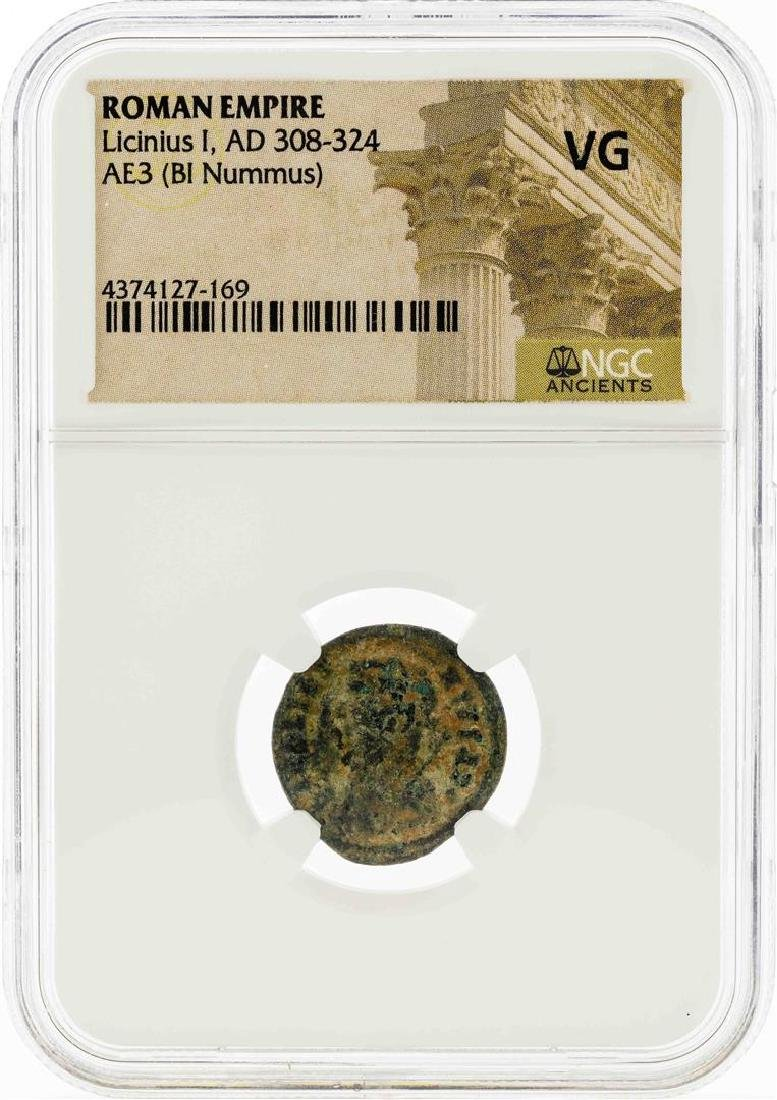 Roman Empire AD 308-324  Licinius I AE3 (BI Nummus)