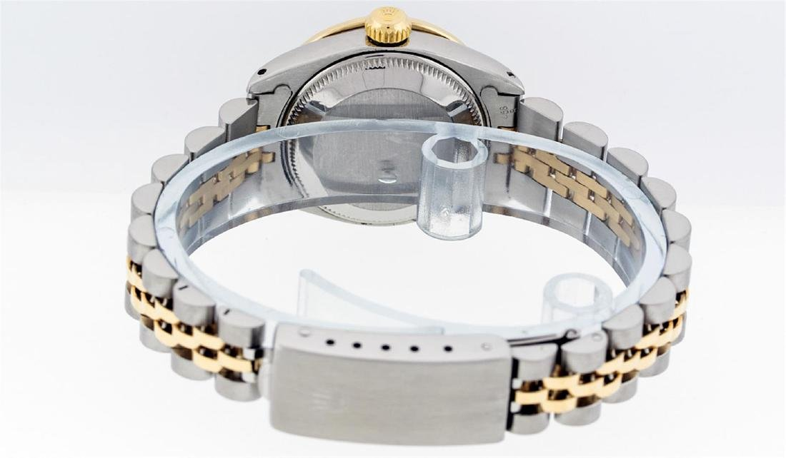 Rolex Ladies Two Tone 14KT Yellow Gold 0.70ctw Diamond - 4