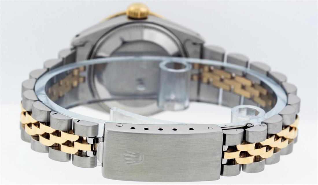 Rolex Ladies Two Tone 14KT Yellow Gold 0.70ctw Diamond - 6