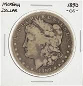 1890CC Morgan Silver Dollar Coin