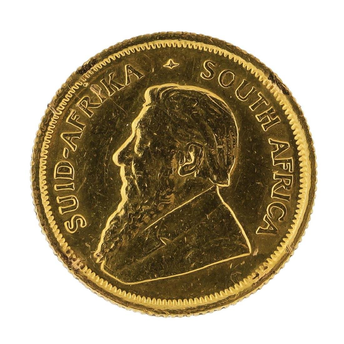 1983 Krugerrand 1/10 oz Gold Coin