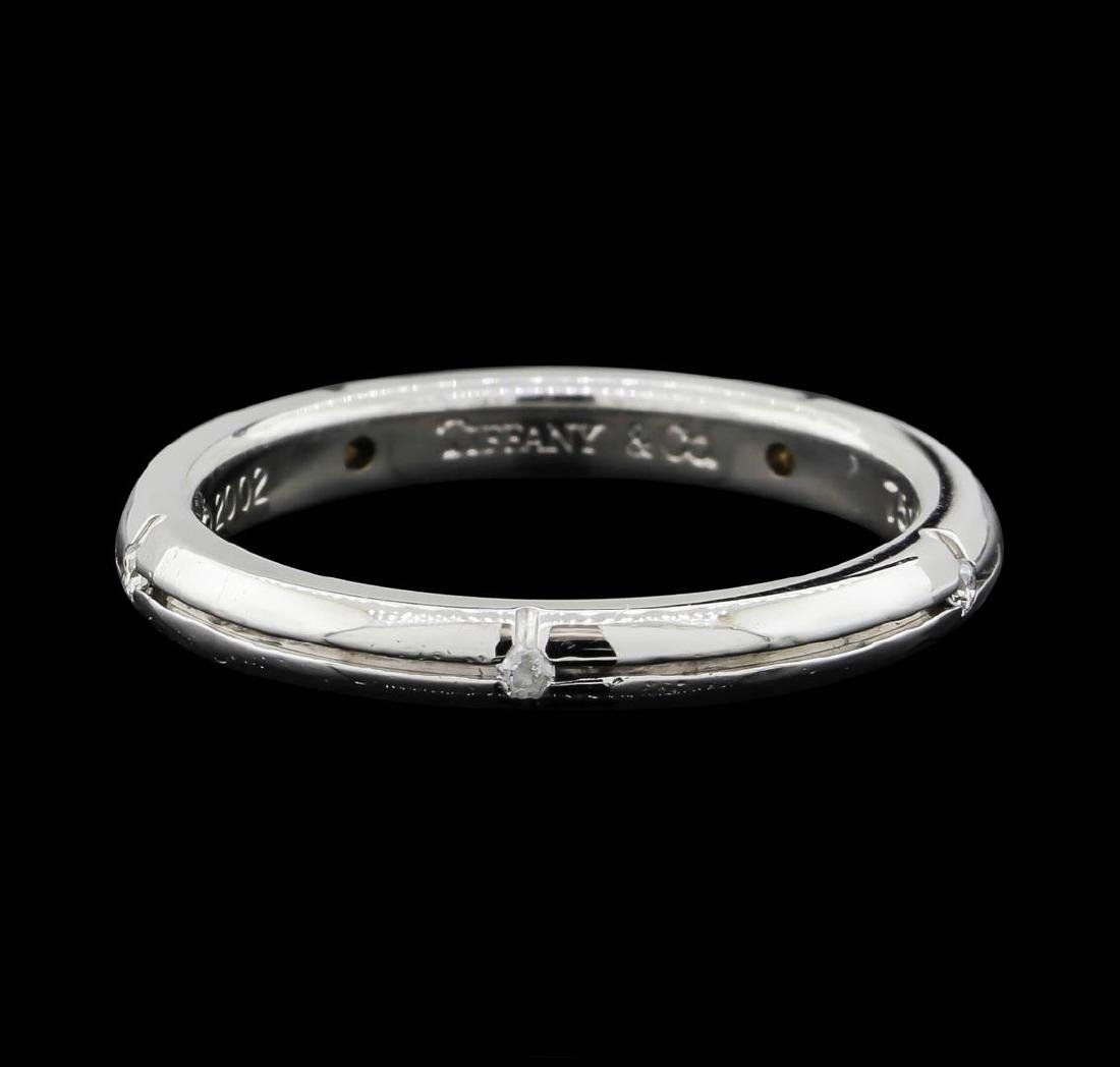 18K White Gold Tiffany & Co. Peretti Diamond Band Ring