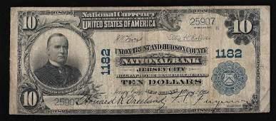1902 10 The Hudson National Bank of Jersey City NJ