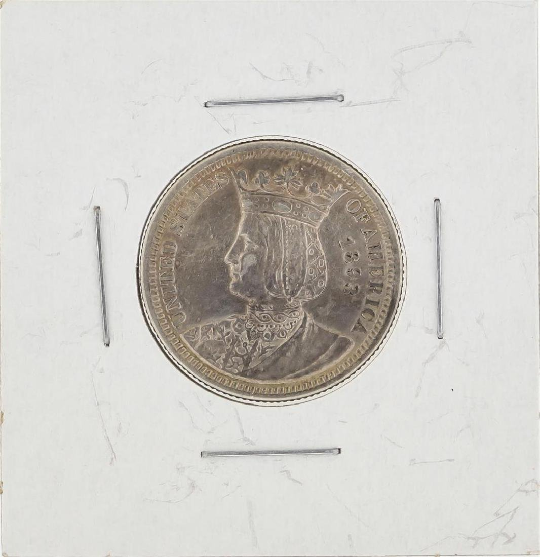 1893 Isabella Quarter Coin