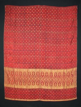 Sumatra - Silk And Metal - Textile
