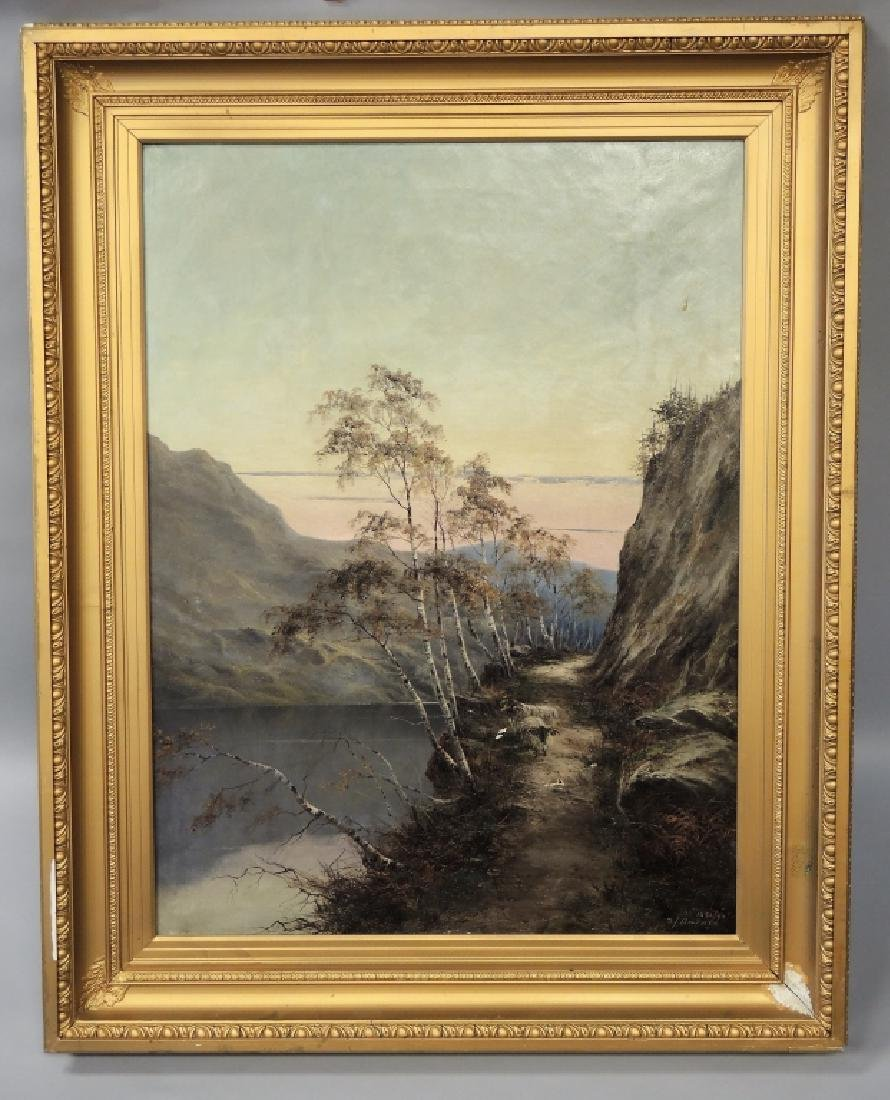 SAMUEL JOHN BARNES (BRITISH, 1847-1901)
