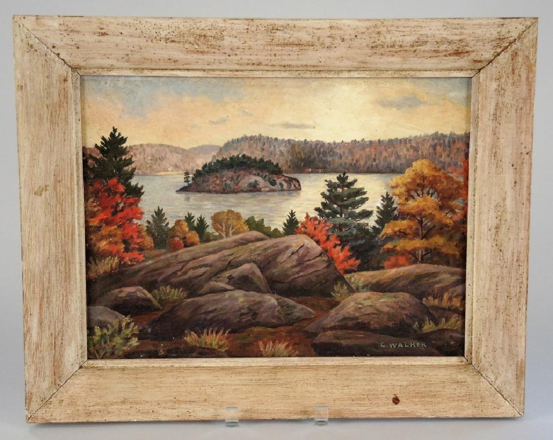 C. WALKER (CANADIAN, 20TH CENTURY)