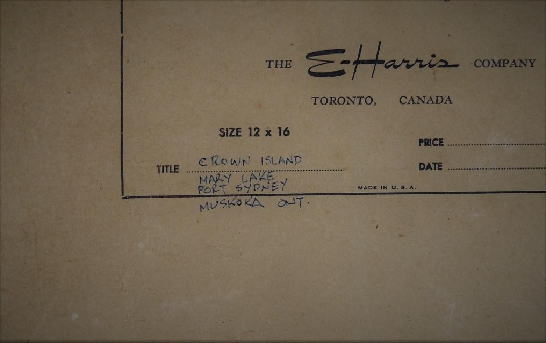 C. WALKER (CANADIAN, 20TH CENTURY) - 3