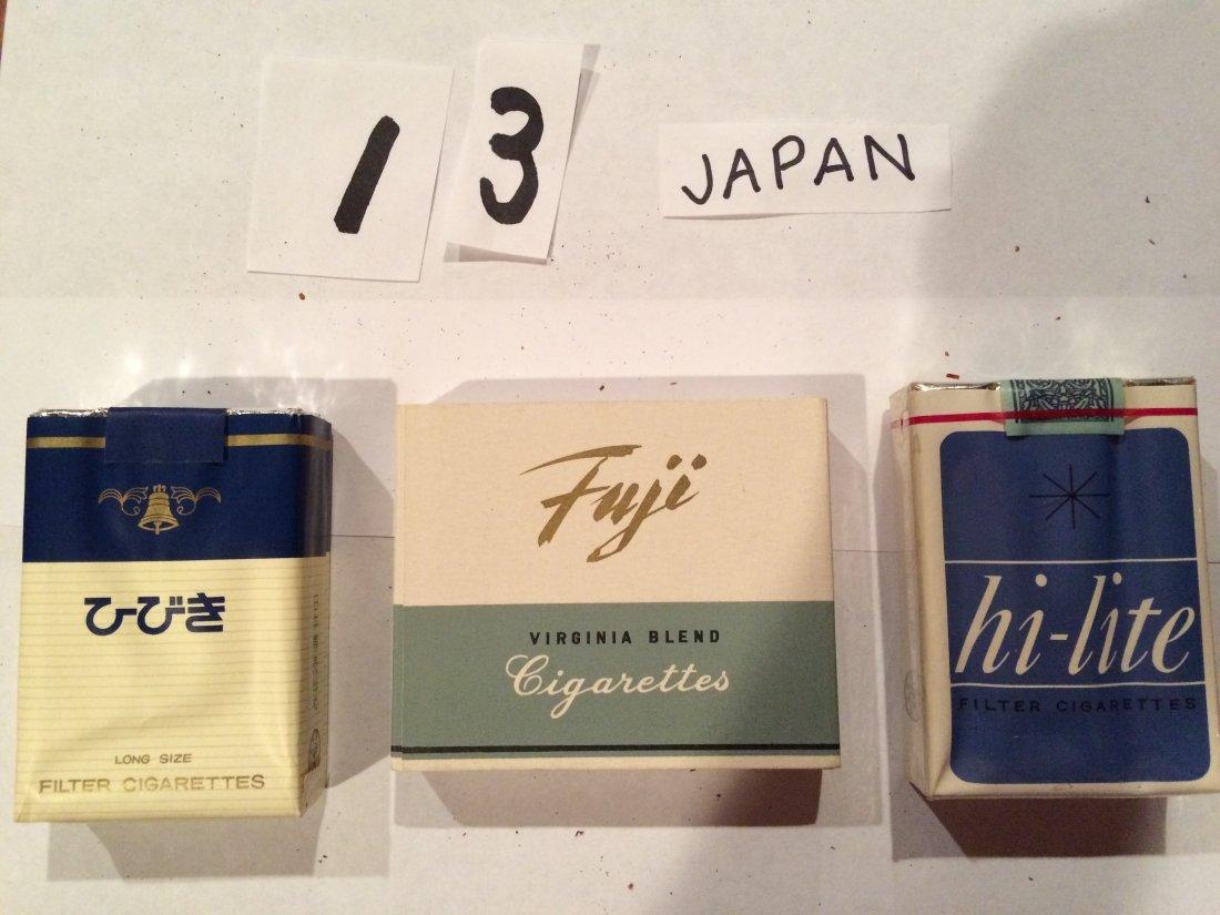 hi-lite virginia blend 3 cigarette packs JAPAN
