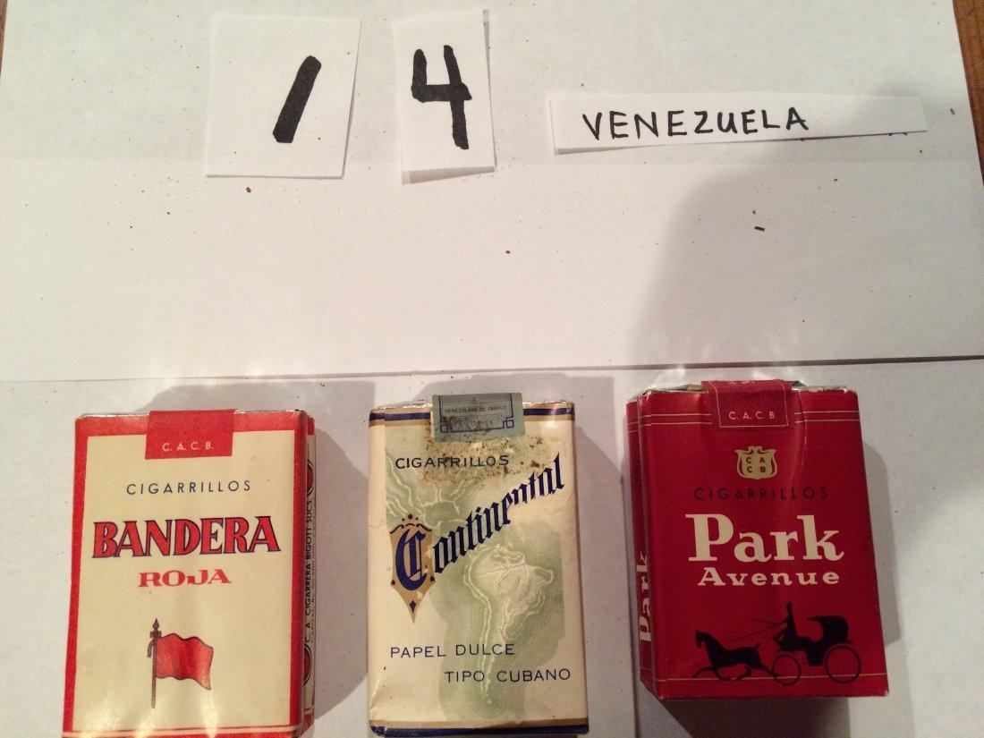 park avenue bandera continental 3 packs venezuela
