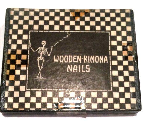 WOODEN KIMONA NAILS 1938