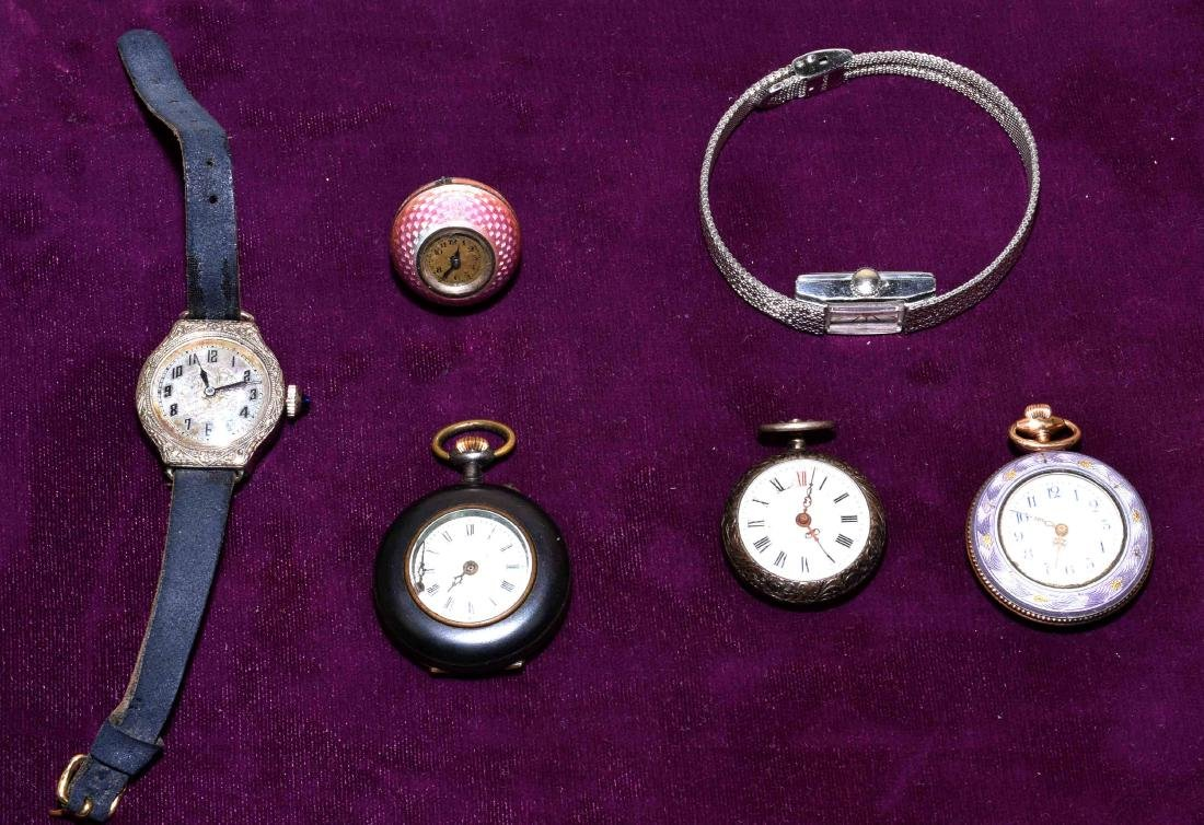 (6) LADIES WATCHES - Includes (3) open face pocket