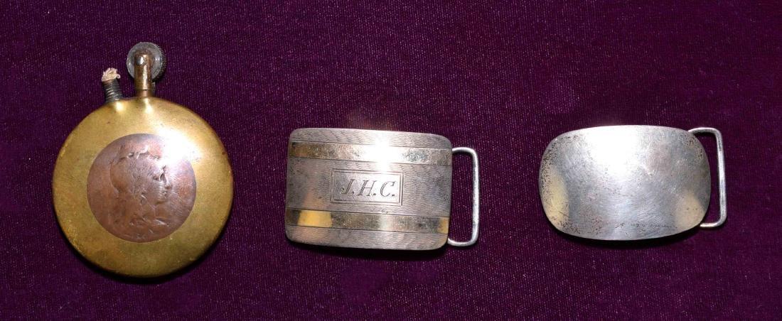 3pc GENTLEMEN'S LOT - Includes (2) Sterling belt