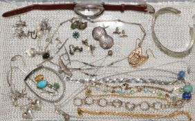 27pcs ASSORTED STERLING JEWELRY LOT - Includes