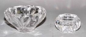 2pcs ASSORTED LENOX AND WATERFORD CRYSTAL - Includes