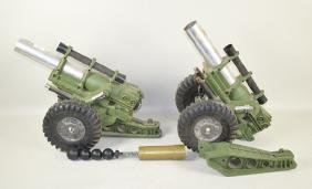 MIGHT MO ''DELUXE READING'' CANNONS - Set of 2