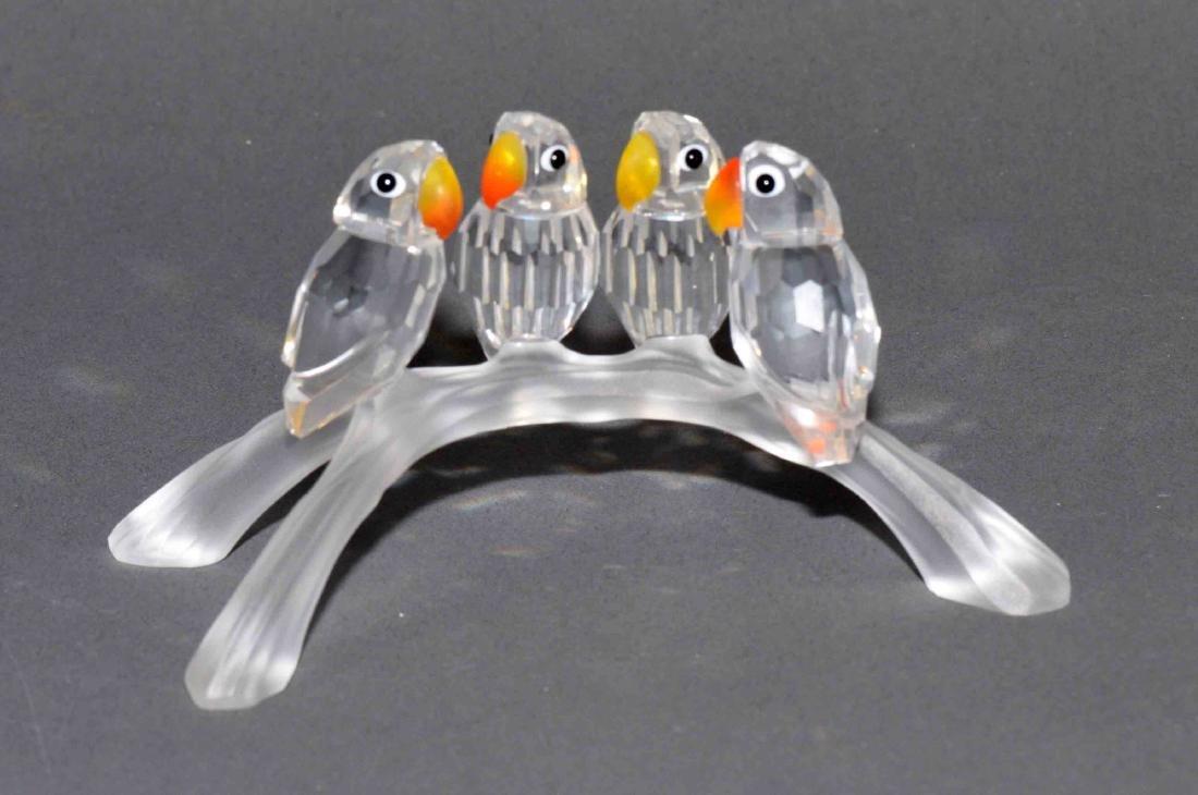 SWAROVSKI CRYSTAL BABY LOVE BIRDS A7621 NR 000 005