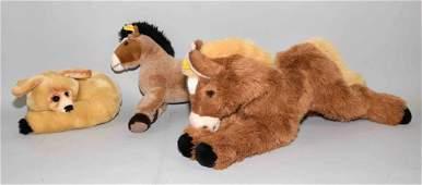 (3) STEIFF STUFFED ANIMALS - Includes: 1992 Molly