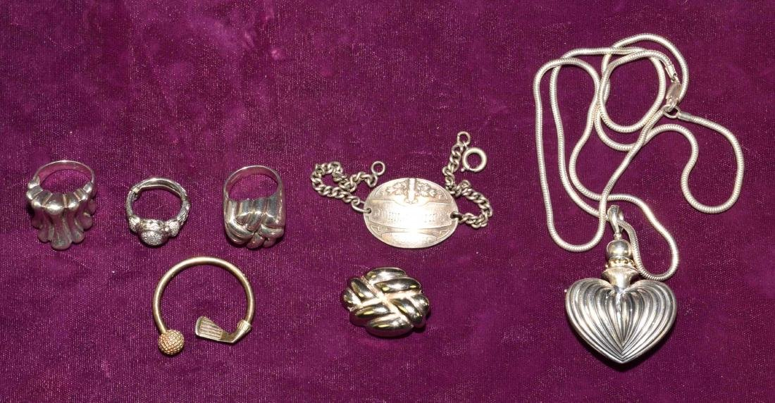 MISCELLANEOUS SILVER COLLECTION. Tiffany & Co. sterling