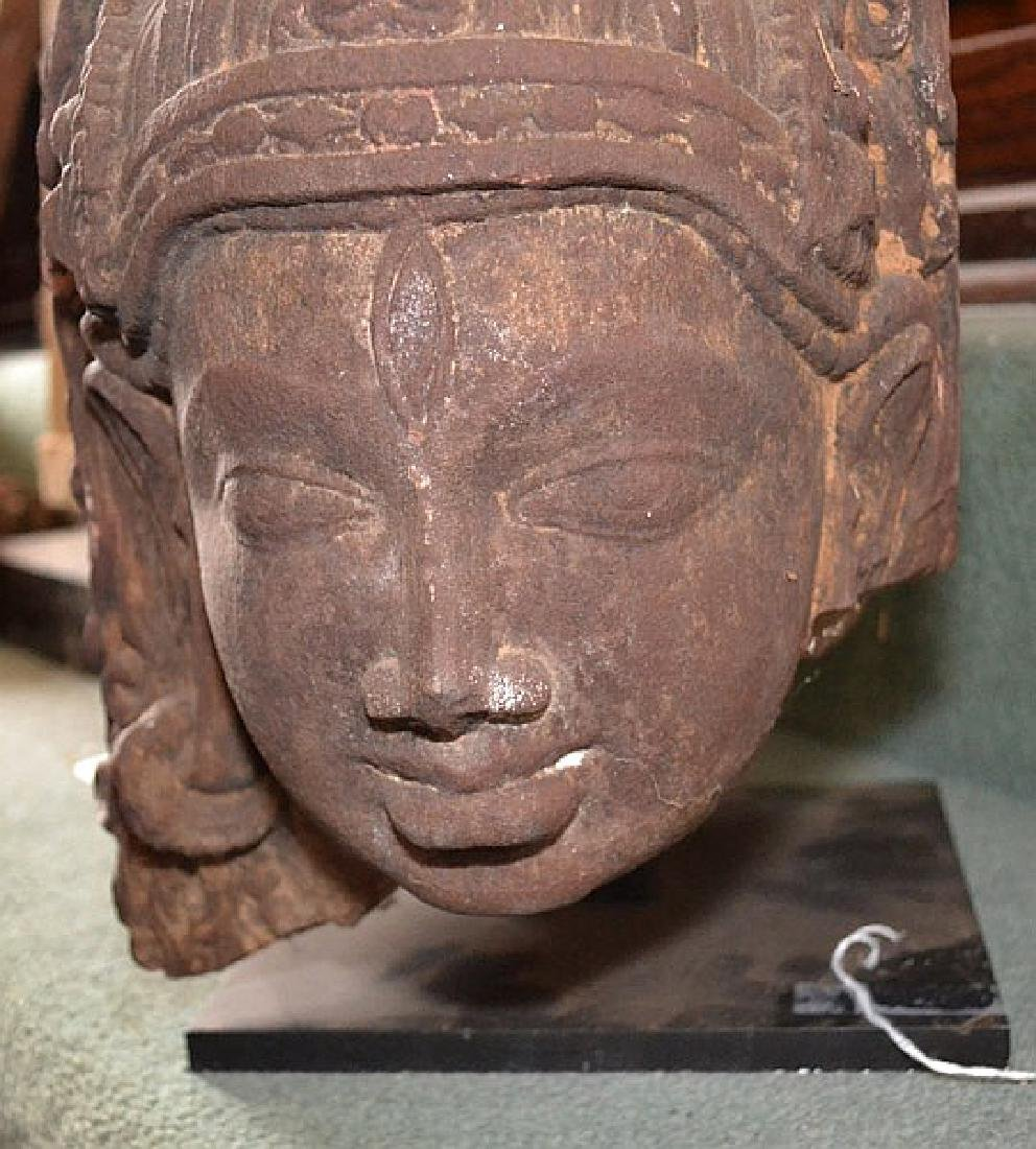 INDIAN HINDU TEMPLE CARVING 12TH - 14TH CENTURY - Brown - 3