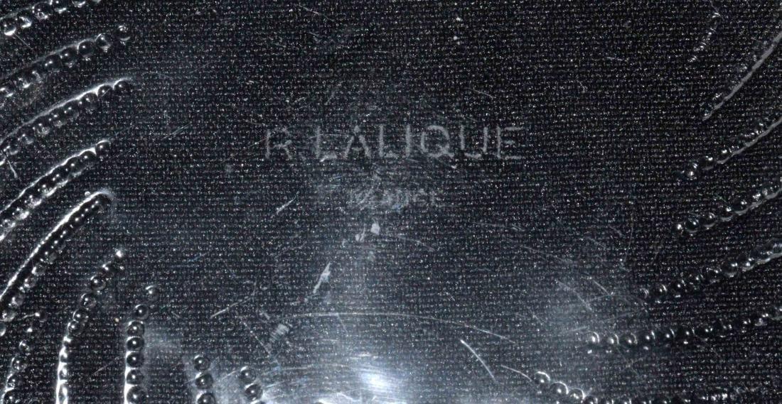 R. LALIQUE, PRE-1945, CENTERPIECE, wheat stalks design, - 5