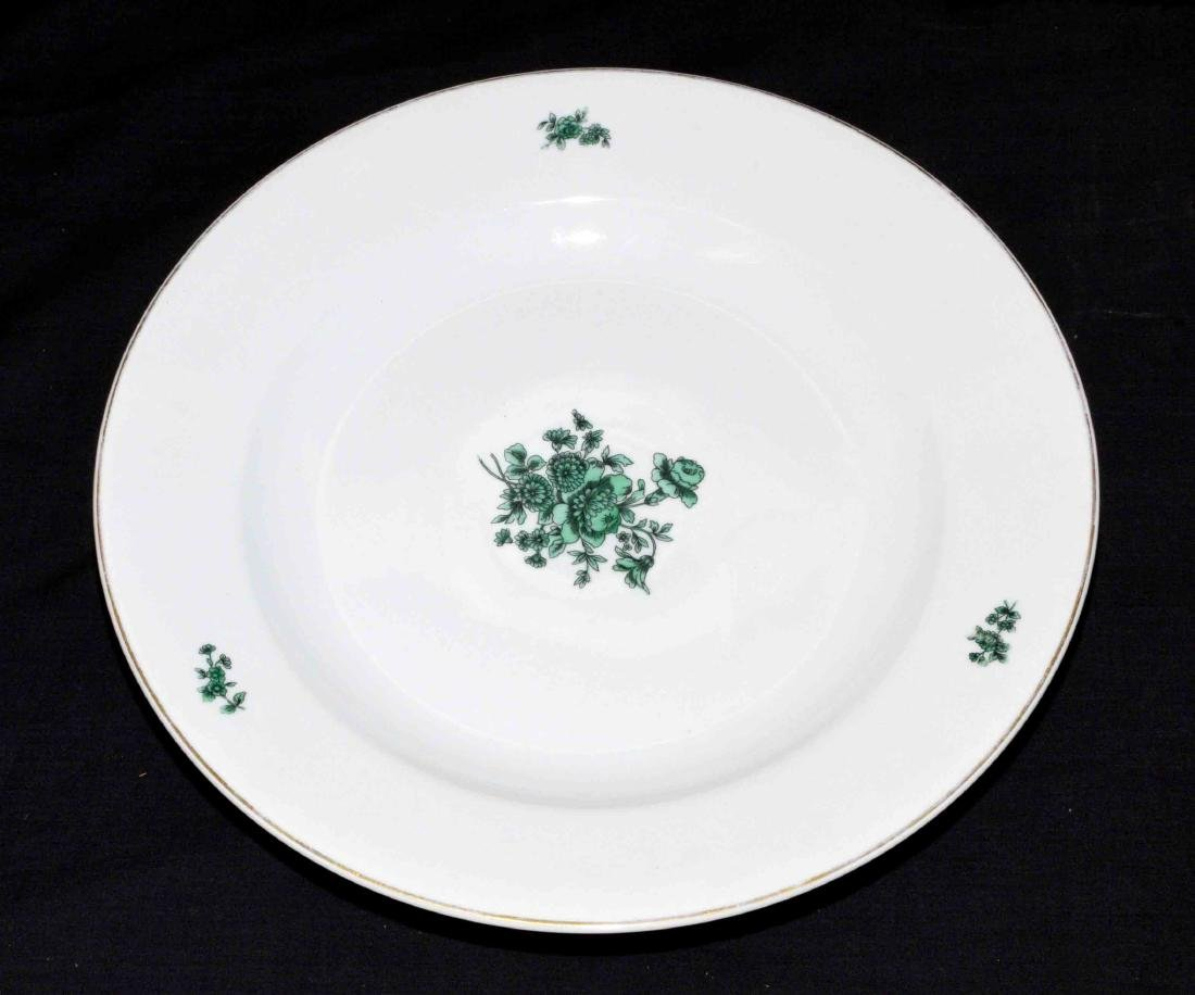 VISTA ALEGRE GREEN AND WHITE TABLE SERVICE, Portugal, - 8