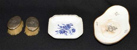 (3) PIECE GROUP OF DECORATIVE OBJECTS, comprising: soft