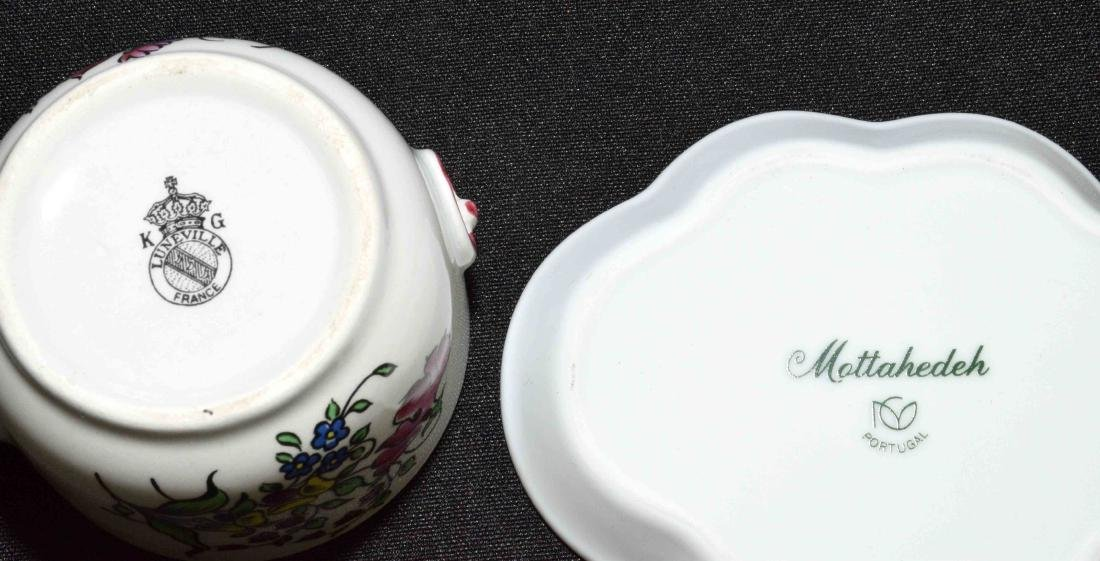 (13PC) GROUP OF DECORATIVE OBJECTS. Comprised: - 14