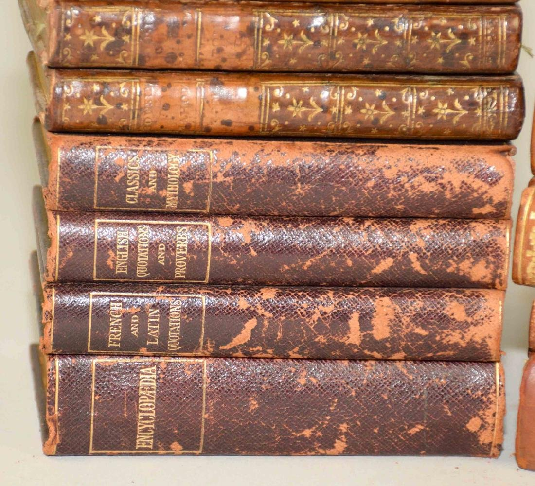 GROUP OF (29) ANTIQUE LEATHER BOUND VOLUMES IN FRENCH - 2