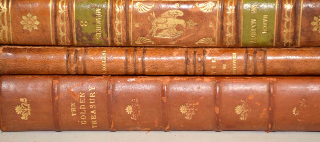 GROUP OF (29) ANTIQUE LEATHER BOUND VOLUMES IN FRENCH - 5