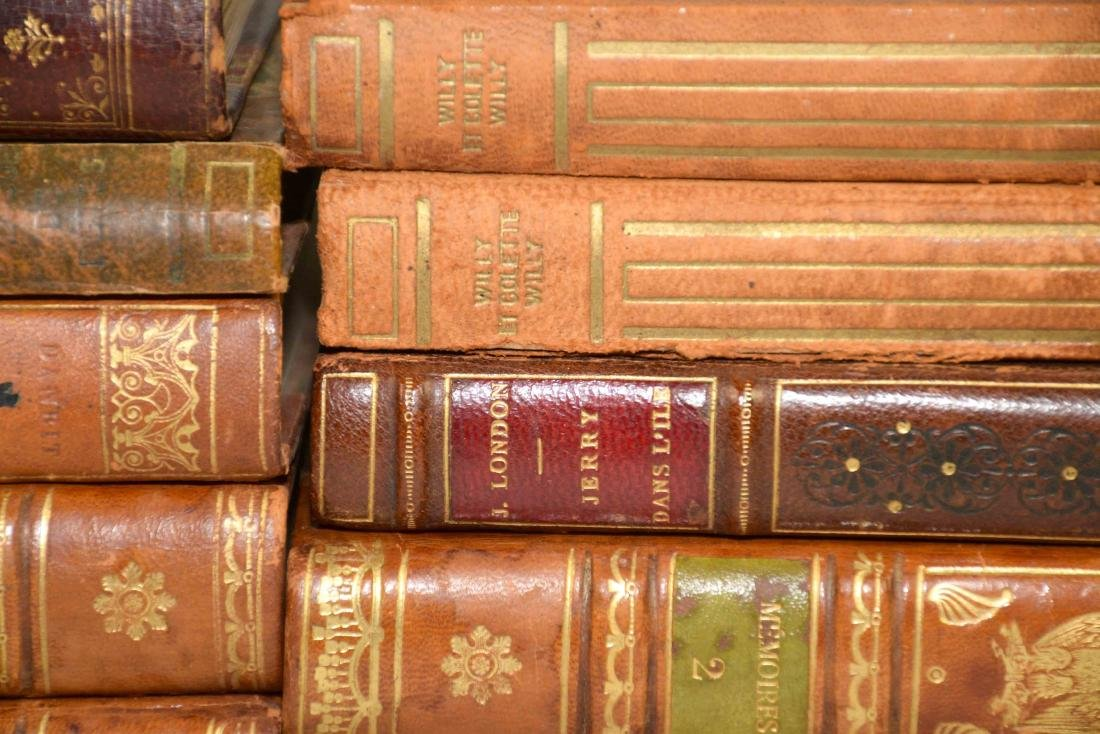 GROUP OF (29) ANTIQUE LEATHER BOUND VOLUMES IN FRENCH - 7