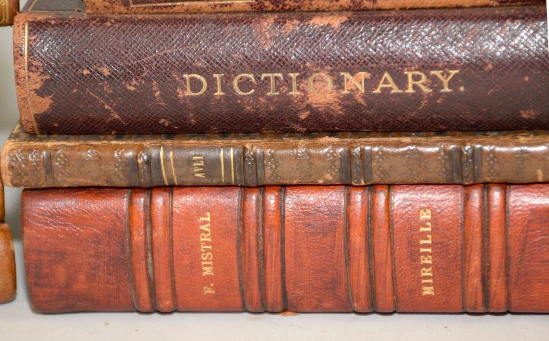 GROUP OF (29) ANTIQUE LEATHER BOUND VOLUMES IN FRENCH - 8