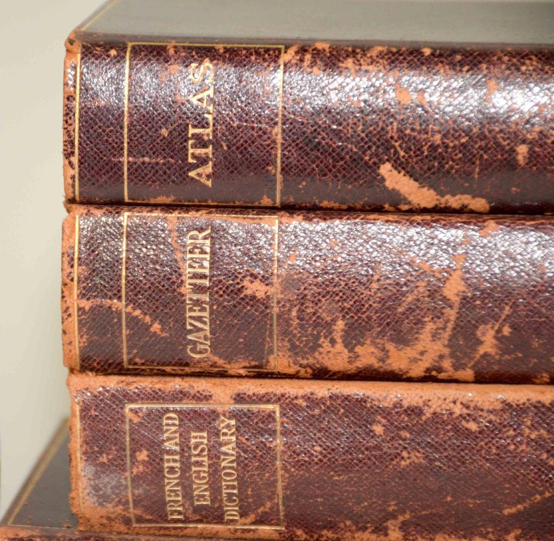 GROUP OF (29) ANTIQUE LEATHER BOUND VOLUMES IN FRENCH - 9