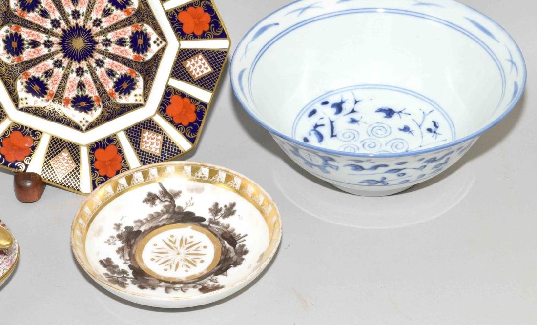 (5) CHINESE PORCELAIN OR ENAMEL OBJECTS. (1) planter, - 3