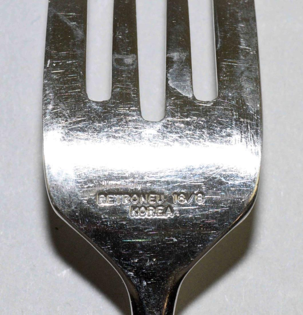 MISC. GROUP OF SILVER PLATED FLATWARE. Comprised: - 4