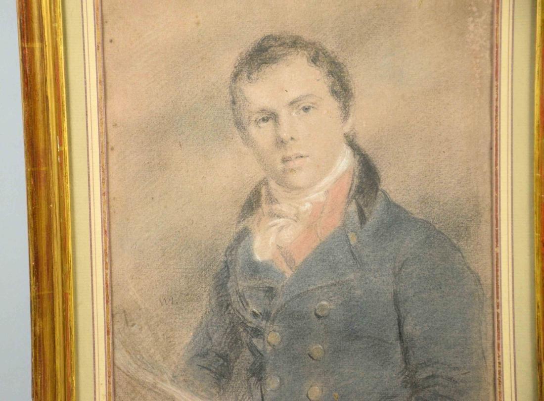 FRENCH SCHOOL (early 19th C.) PORTRAIT OF A GENTLELMAN. - 2