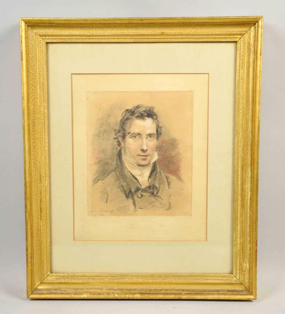 JOHN SUMELL (?), Portrait of a gentleman. Pastel,