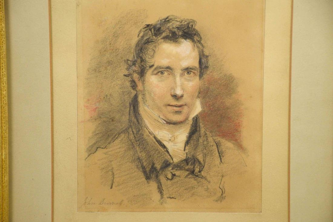 JOHN SUMELL (?), Portrait of a gentleman. Pastel, - 2